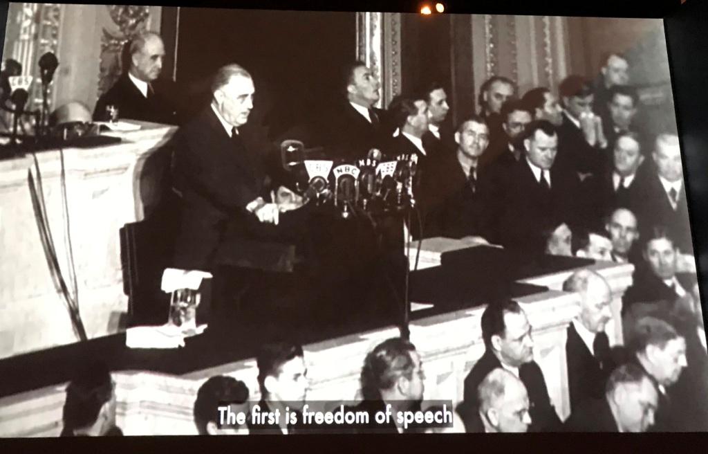 fdr four freedoms speech summary